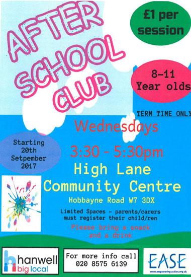 Hanwell Big Local After School club