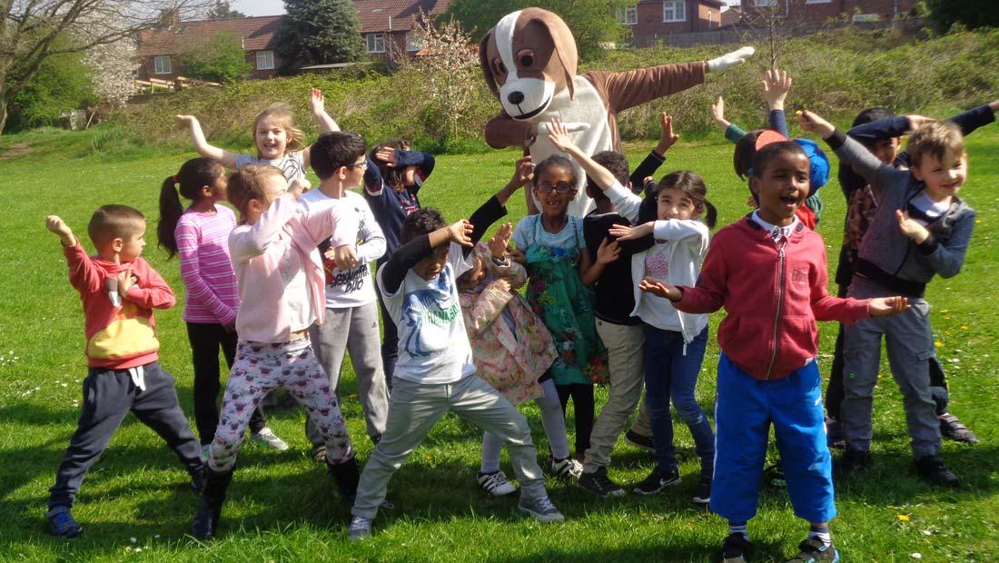 hanwell big local humphrey hound children park