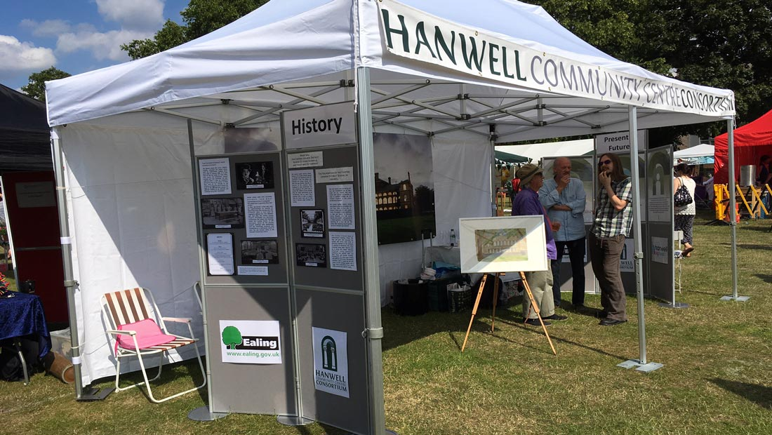 Hanwell Big Local Community Centre tent