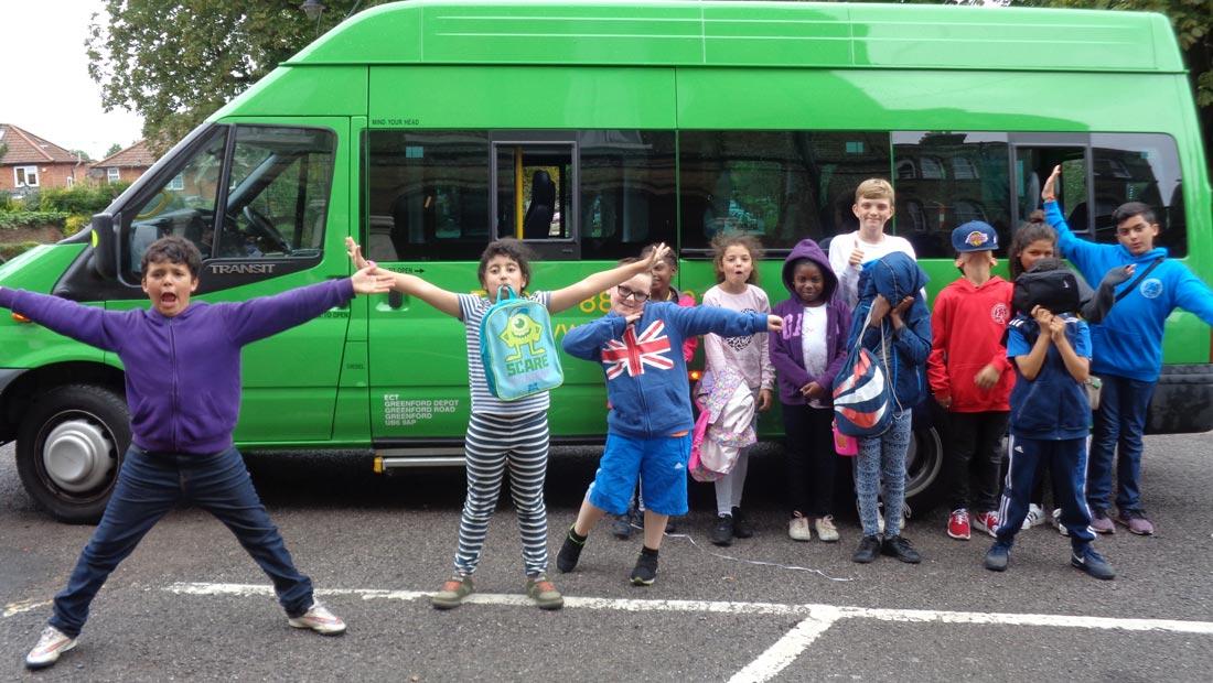 Hanwell big local ECT transport kids