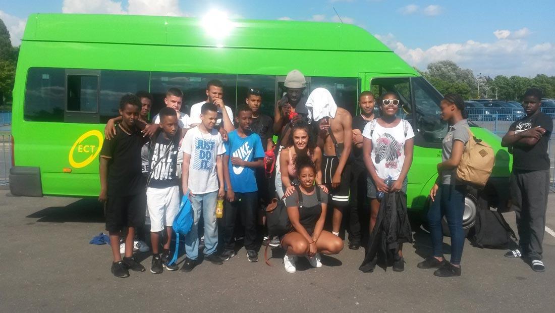 Hanwell big local ECT transport teens