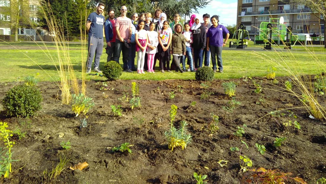 Hanwell big local horticulture group