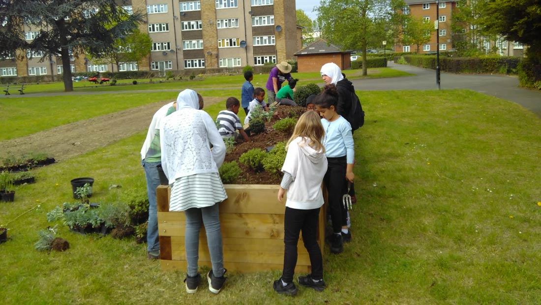 Hanwell big local horticulture children