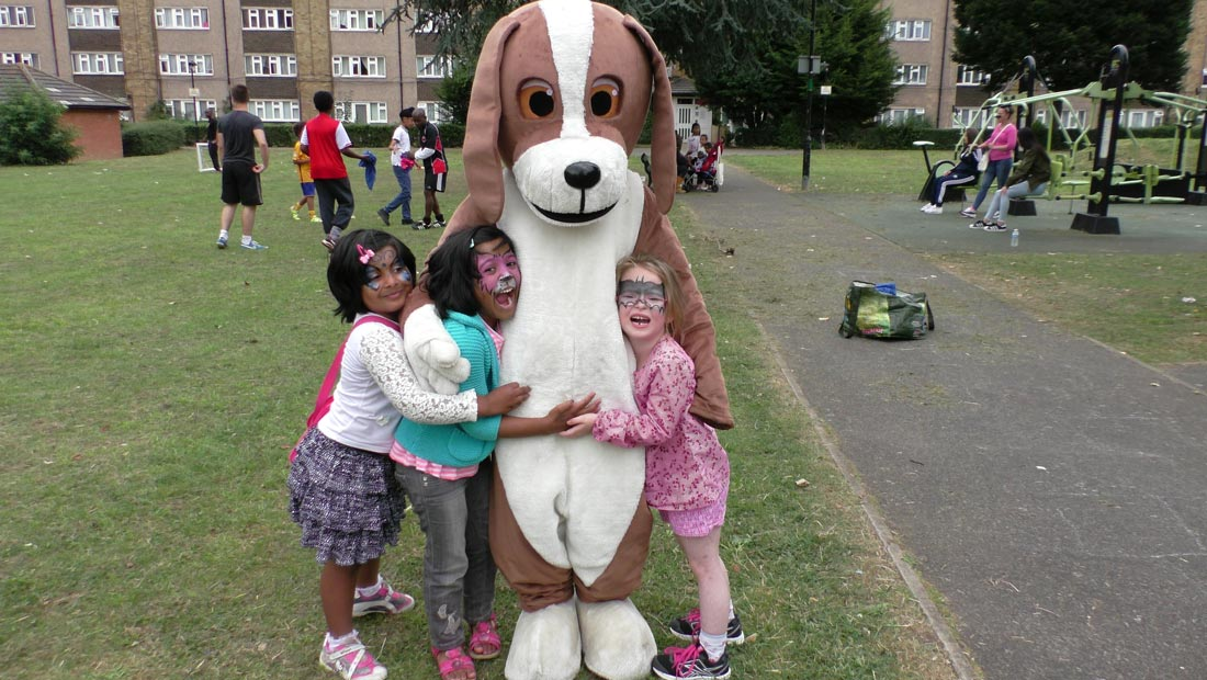 hanwell big local humphrey hound girls park