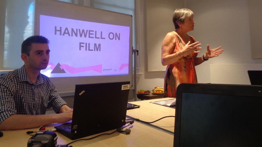 Hanwell on film presentation