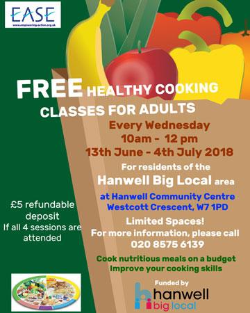Cooking Classes Hanwell Big Local