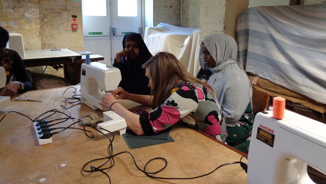 Hanwell Big Local sewing classes
