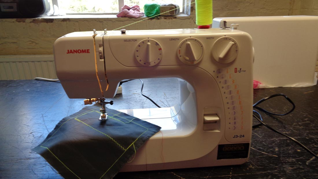 Hanwell Big Local sewing machine